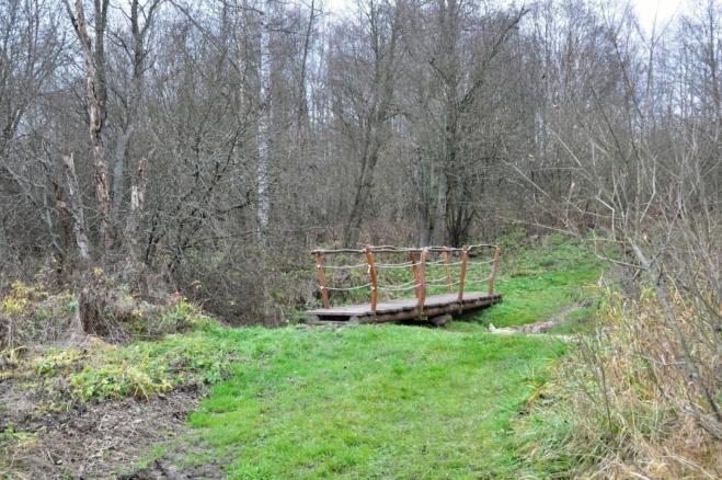 Most přes Starý potok.