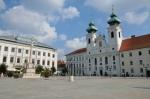 Széchenyiho náměstí (Széchenyi tér), Győr, Maďarsko