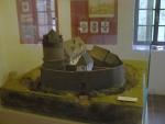 Model hradu v bývalém strážním domku