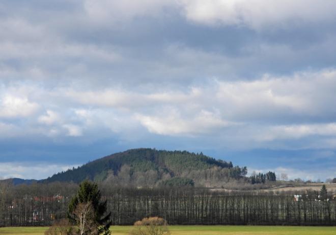 Kněží hora u Katovic.