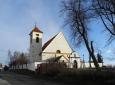 Kostel v Řepici.