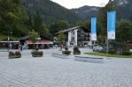 Vesnice Königssee, Berchtesgadenské Alpy, Německo