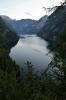 Jezero Königssee, Berchtesgadenské Alpy, Německo