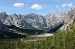 Údolí Wimbachtal, Berchtesgadenské Alpy, Německo