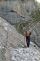 Výstup do sedla Trischübel, Berchtesgadenské Alpy, Německo