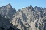 Hory nad údolím Wimbachtal, Berchtesgadenské Alpy, Německo
