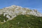 V sedle Trischübel, Berchtesgadenské Alpy, Německo