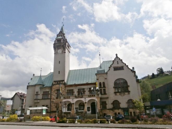 Secesní radnice
