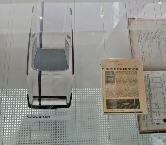 Škoda Super Sport z filmu Upír z Feratu