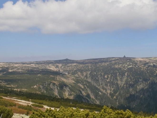 Hora Violík - Labská bouda - Bouda u Sněžných jam