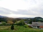 Výhled z okna na občinu Ribnicu na Pohorju