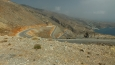 silnice ze Sfakie do Anopoli