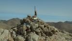 vrcholová mohyla na Pachnes ...