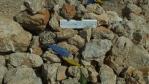 jsme na nejvyšším vrcholu Levka Ori 2453 metrů nad mořem ...