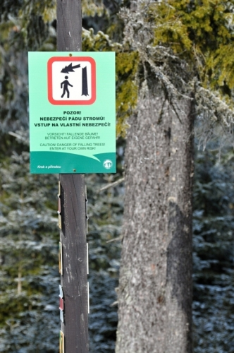 Toto je jediné, co lze v l. zóně pro turisty udělat.