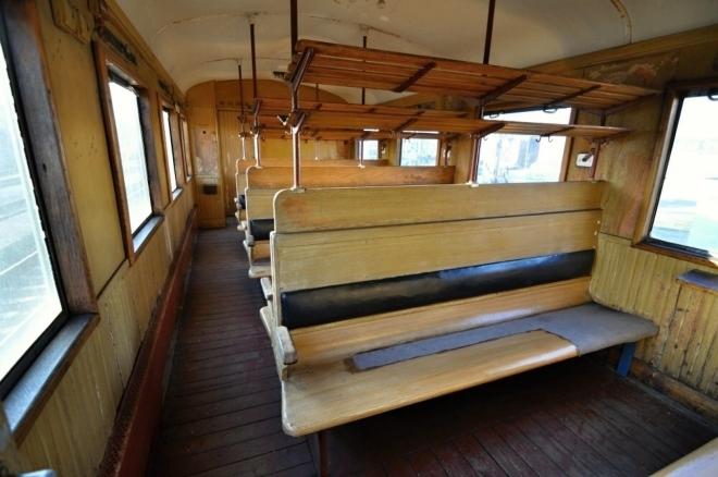 Dobový vagón.
