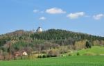 Loučení s Makovou horou a pestrou krajinou Povltaví.