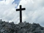 Konečně jsme u kříže na hlavním vrcholu
