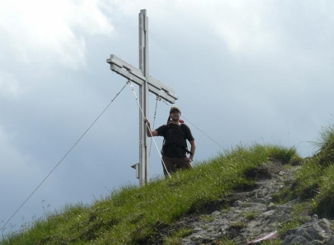 Na vrcholu Kitzsteinu