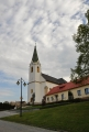 Kostel ve Strání.