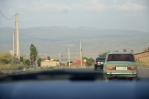 Venkov poblíž Jerevanu, Arménie