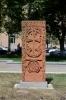Chačkar v centru Jerevanu