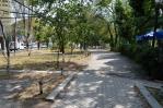 Kruhový park na okraji centra Jerevanu