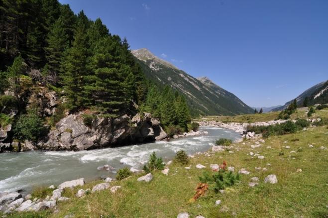 Malebnost údolí je nezapomenutelné.