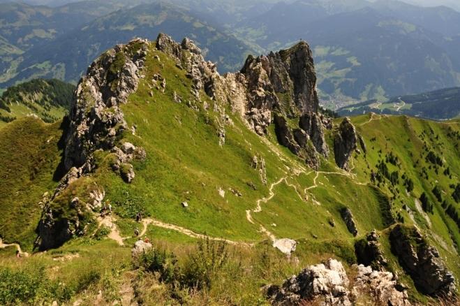 Wetterkreuz a Aukopf.