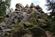 Čtyři palice je soubor vysokých skal, které často využívají k lezení horolezci.