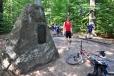 Další památník je zasvěcený NPR Žákova hora.