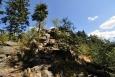 Devět skal je soubor mnoha skal a skalek, které tvoří malé náměstí.