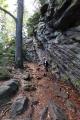 Malínské skály tvoří kamenné bloky a jde o atraktivní místo s krásnou vyhlídkou z vrcholu.