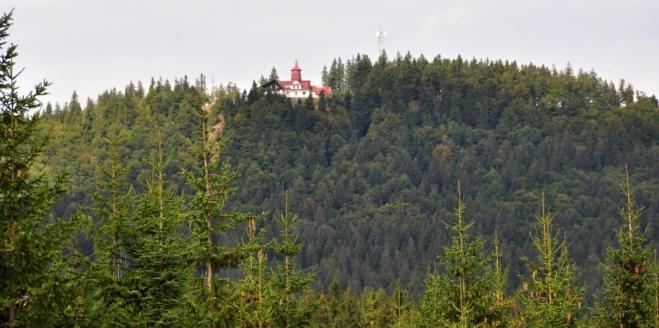 Chata Pancíř od Gerlovy Hutě.