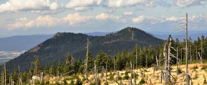 Ostrý panorama.