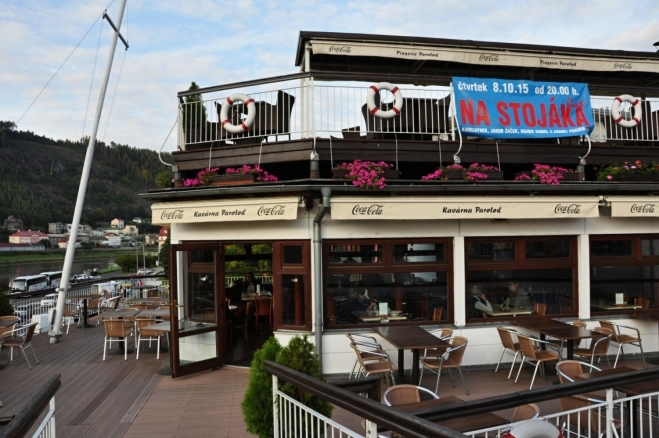 Kavárna Paroloď.