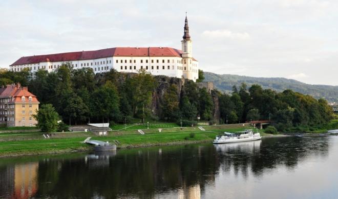 Děčínský zámek.