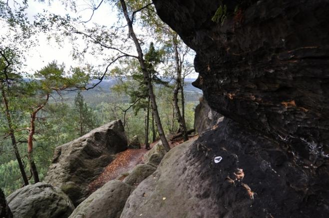Pod Kleiner Winterbergem (499 m n. m.).