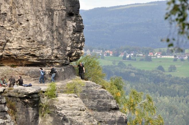 Impozantní pohled na Frienstein.