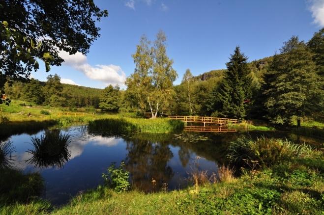 Ostrovský rybník.