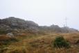 Nejvyšší bod Velkého Javoru (1 456 m n. m.).