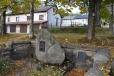 Pomník v Prášilech.