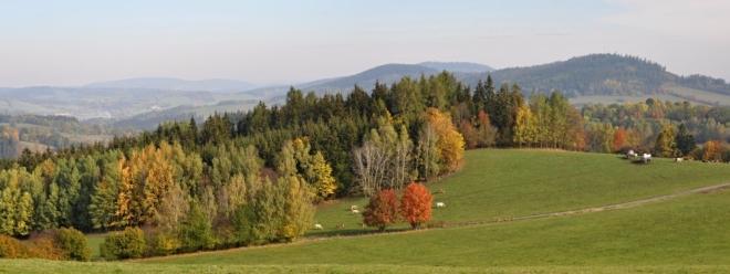 Panorama Horní Krušec.