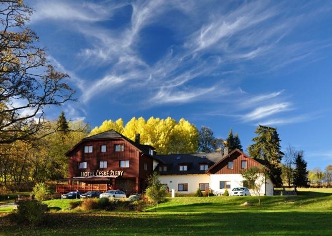 Hotel České Žleby.