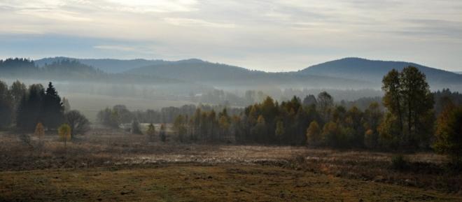 Podzimní krajina má své kouzlo.