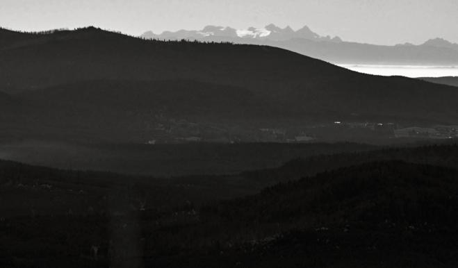 Dachstein za Třístoličníkem (Hochstein).