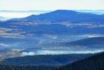 Chlum (1 091 m n. m.) a vápencové východní Alpy.