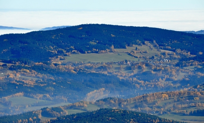 Libín (1 090 m n. m.).