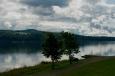 Pohled na jezero Mjøsa.