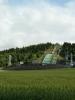 Skokanský můstek v Lillehammeru v celé své kráse.